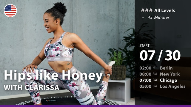 [PREMIERE] Hips like Honey | 7/30/21 | Clarissa