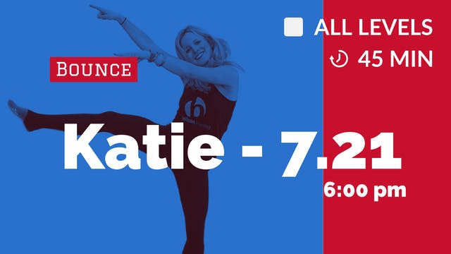 Bounce + Tone | 7/21/20 | Katie