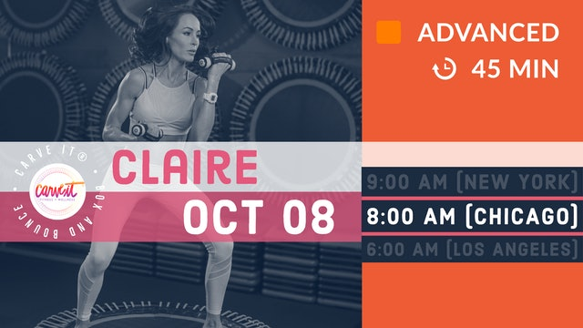 Carve It® BOXOUT | 10/8/20 | Claire