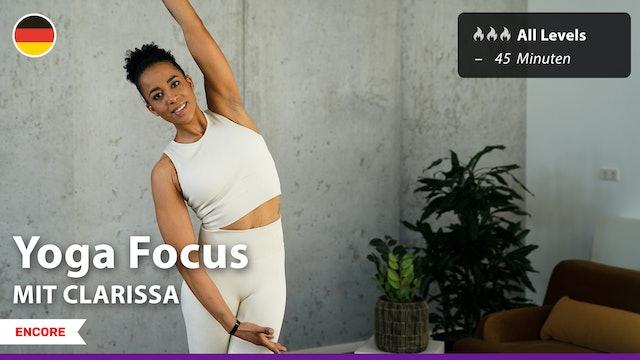 [ENCORE] Yoga Focus | 6/20/21 | Clarissa
