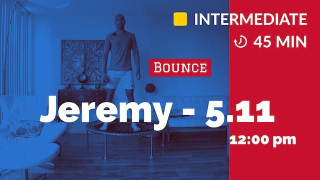 Cardio Bounce | 5/11/20 | Jeremy