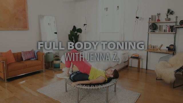 FULL BODY TONING with Jenna Z. | bellicon Home