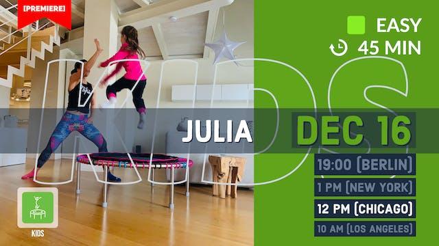 Fit KIDZ 5-9y | 12/16/20 | Julia