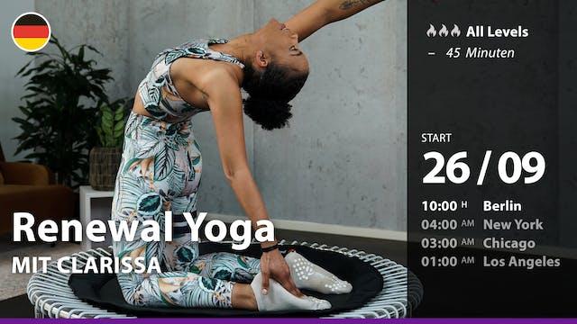 [PREMIERE] Renewal Yoga | 9/26/21 | C...