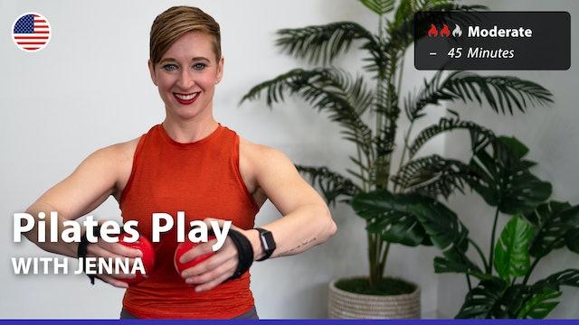 Pilates Play | 6/28/21 | Jenna