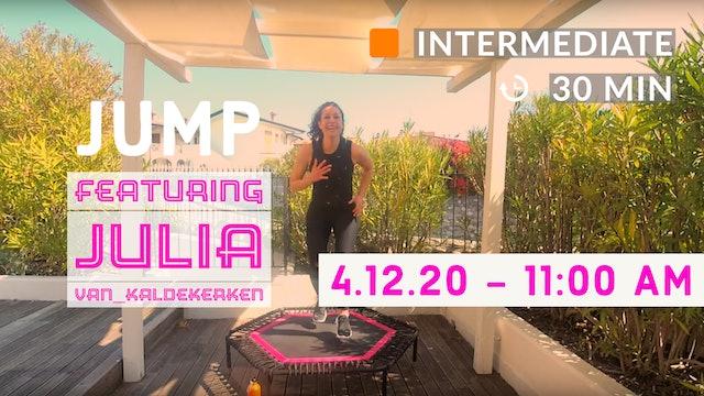 JUMP Fun | 4/12/20 | Julia
