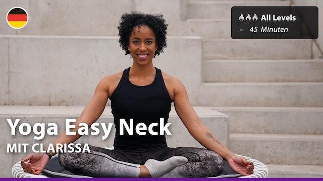 Yoga Easy Neck | 4/1/21 | Clarissa