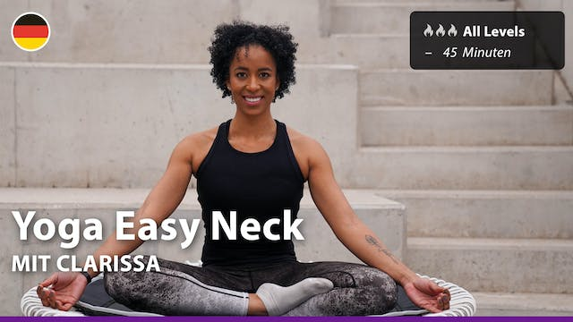 Yoga Easy Neck | 4/1/21 | Clarissa