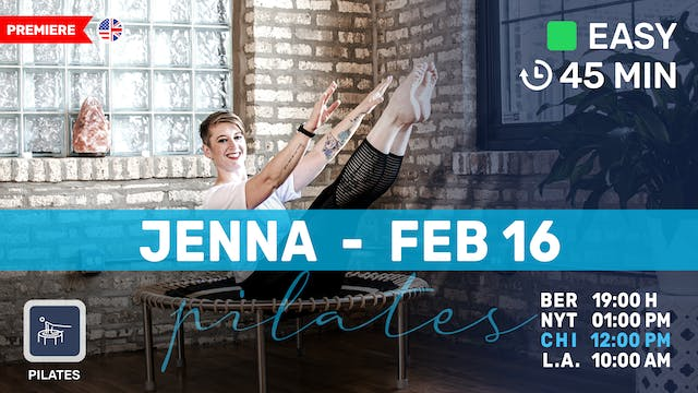 Gentle Pilates Meets Bounce | 2/16/21...