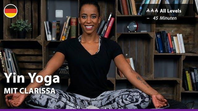 Yin Yoga | 3/18/21 | Clarissa