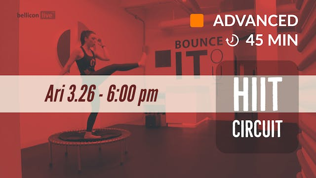 bellicon HIIT | 3/26/20 | Ari