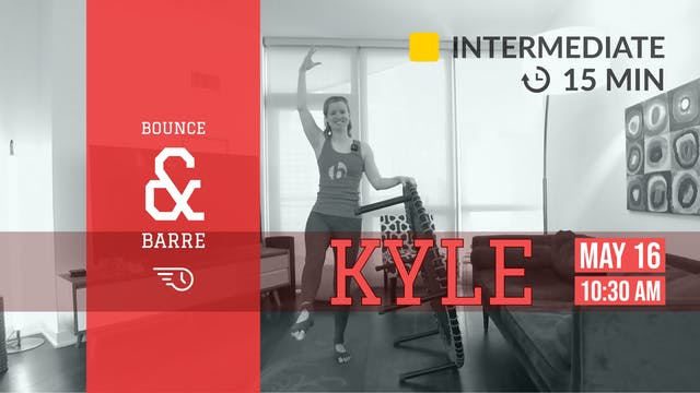 15-Minute Hip Hop Core | 5/16/20 | Kyle