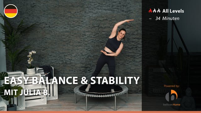 EASY BALANCE & STABILITY mit Julia B.