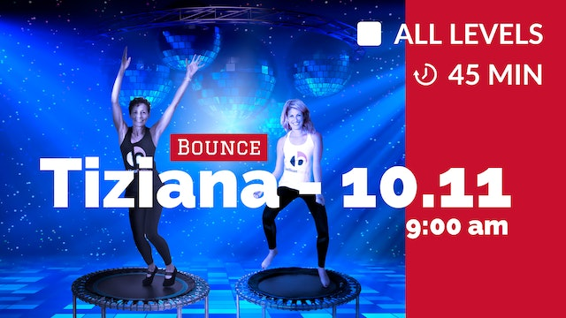 Back in Time Bounce: Grooovy 70s | 10/11/20 | Tiziana