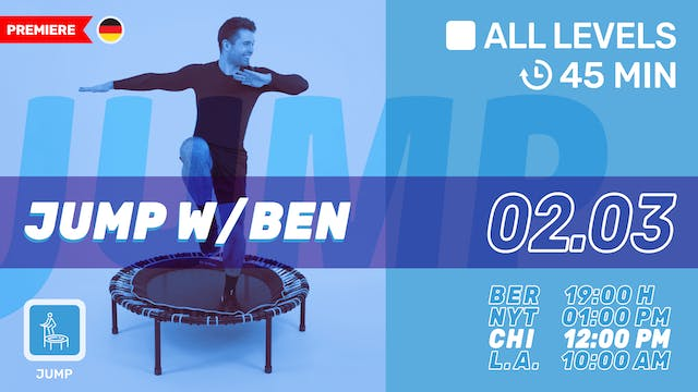 bellicon® JUMPING FITNESS | 2/3/21 | Ben