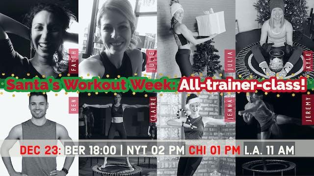 Santa's Workout | 12/23/20 | bellicon...
