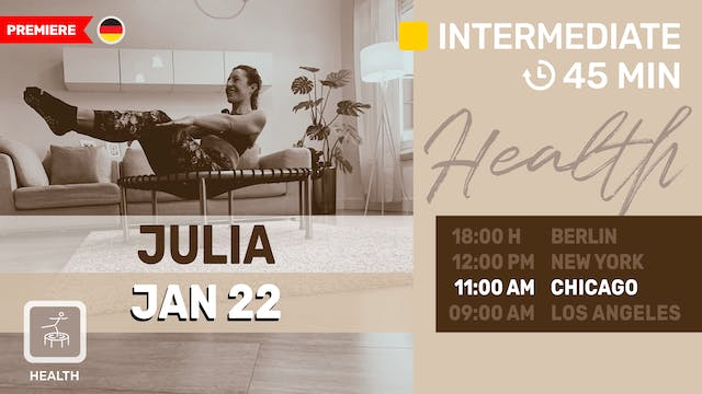 Health meets BBP | 1/22/21 | Julia vK.