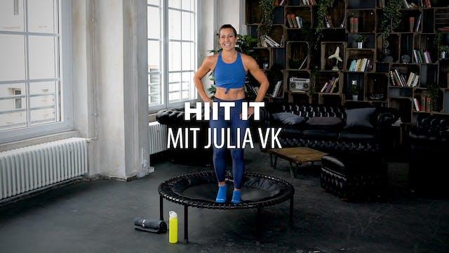 HIIT it mit Julia vK.