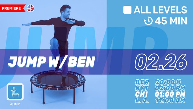 bellicon® JUMPING FITNESS | 2/26/21 | Ben