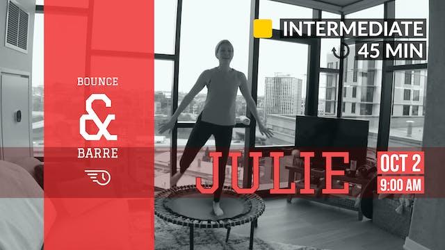 Ballet-Inspired Barre + Bounce   10/2...