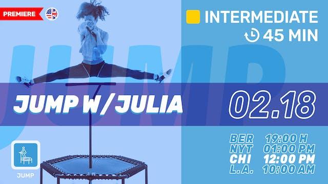 Jump Up | 2/18/21 | Julia vK.