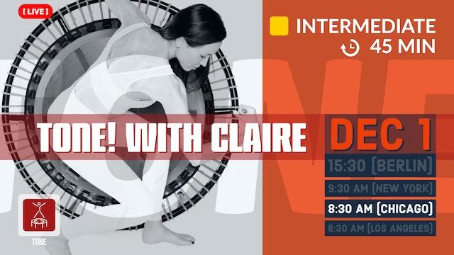 [LIVE] TONE | 12/1/20 | Claire