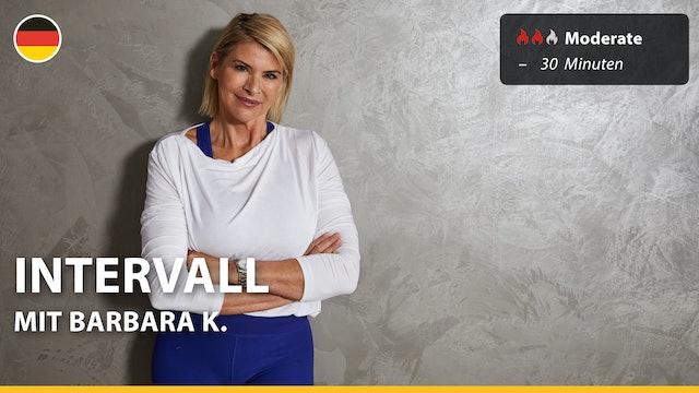 INTERVALL   8/25/21   Barbara K.