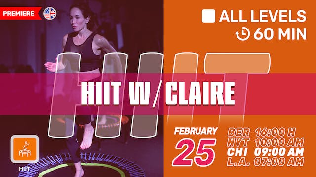 SPEED PLAY | 2/25/21 | Claire