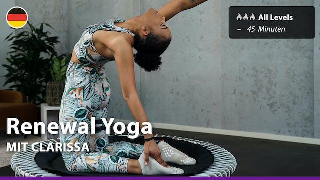 Renewal Yoga | 9/26/21 | Clarissa