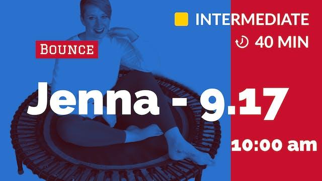 Quick AM Bounce | 9/17/20 | Jenna