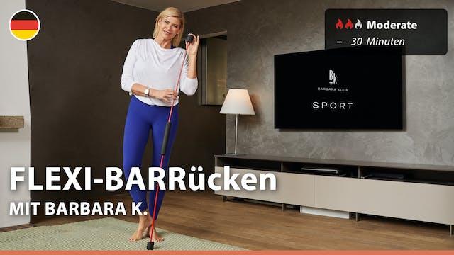 FLEXI-BARRücken | 9/22/21 | Barbara K.