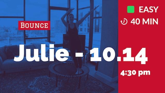 Mid-Week Rejuvenate + Reset | 10/14/20 | Julie