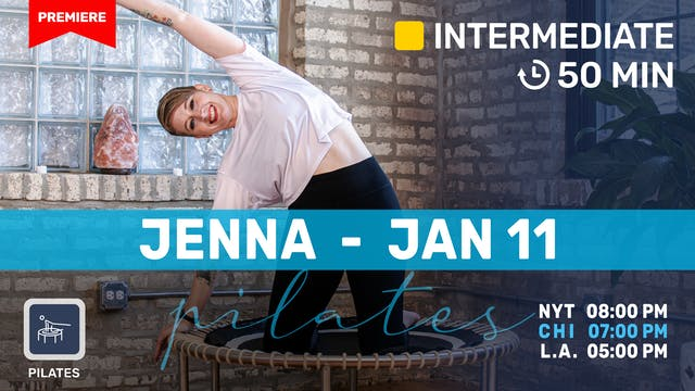 Pilates Meets Bounce | 1/11/21 | Jenna