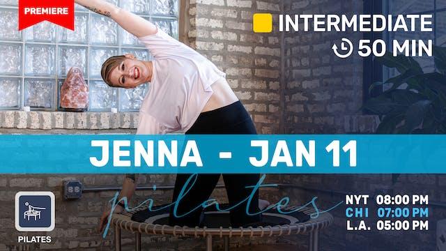 Pilates Meets Bounce | 1/11/21 | Jenna