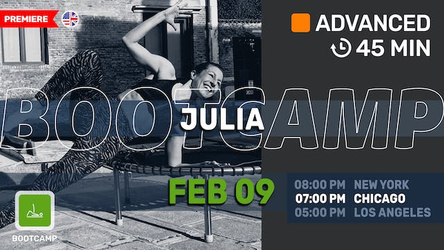 Tabata Sweat | 2/9/21 | Julia