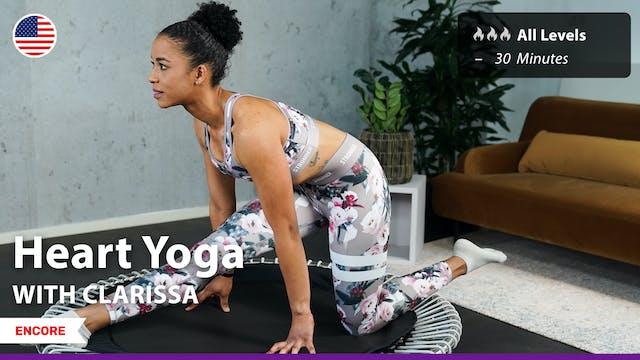 [ENCORE] Heart Yoga | 6/11/21 | Clarissa