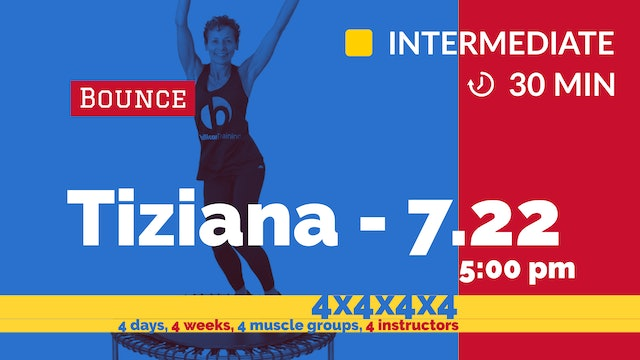 4x4x4x4 Challenge: week 1 Strong Abs Flat Belly | 7/22/20 | Tiziana