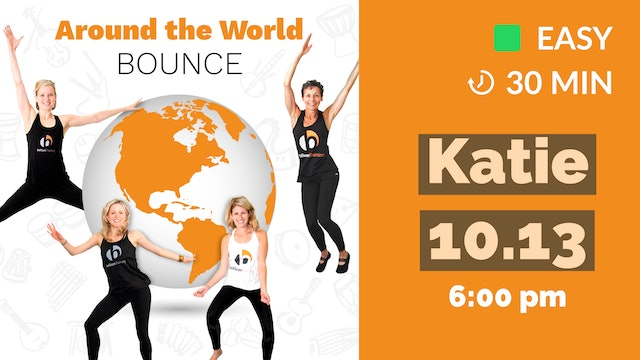 Around the World Bounce: Asian Zen | 10/13/20 | Katie