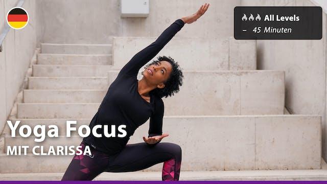 Yoga Focus | 5/6/21 | Clarissa