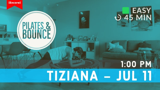[ENCORE] Spine Mobility Bounce | 7/11/20 | Tiziana