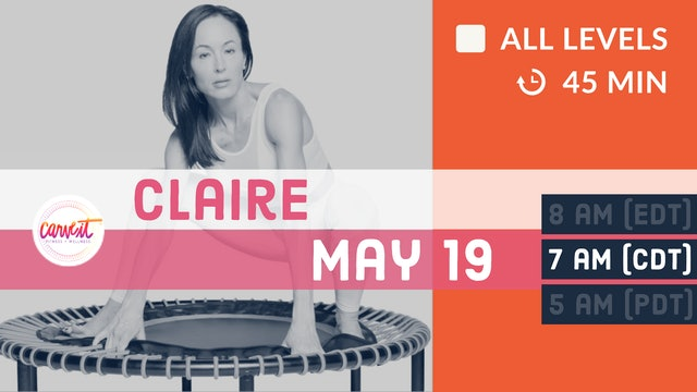 Carve It® FOUNDATIONS | 5/19/20 | Claire