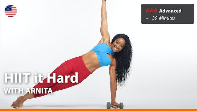 HIIT it Hard   5/20/21   Arnita