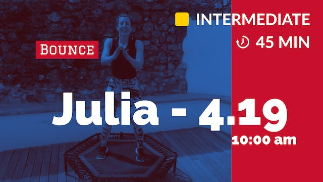 LATIN DANCE FEVER | 4/19/20 | Julia