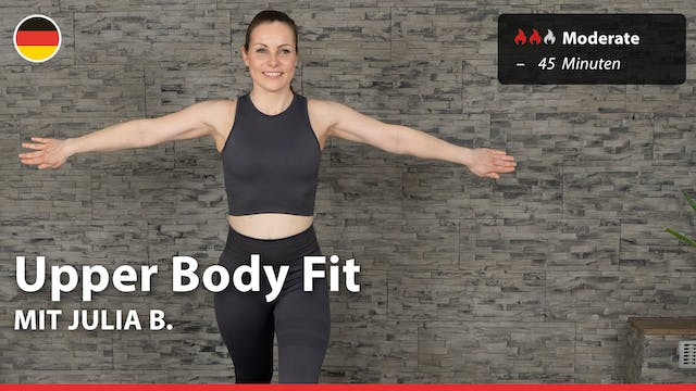 Upper Body Fit | 4/16/21 | Julia B.