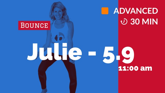 Amped Up Bounce: Express Edition | 5/9/20 | Julie