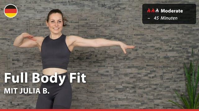 Full Body Fit | 4/9/21 | Julia B.