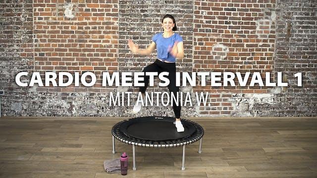 Cardio meets Intervall 1 mit Antonia W.