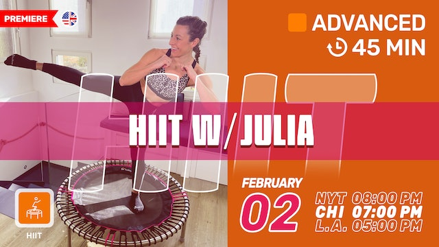 Super HIIT | 2/2/21 | Julia