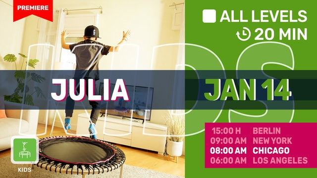 FIT TEENS 10 - 13 Jahre  | 1/14/21 | Julia