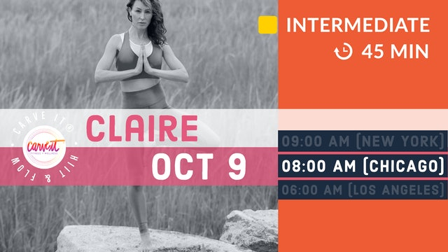 Carve It® HITT & FLOW | 10/9/20 | Claire
